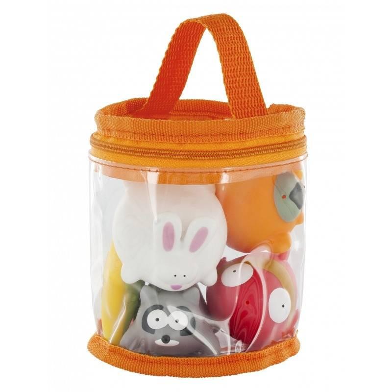 Babymoov Набор игрушек для купания Веселые друзья babymoov