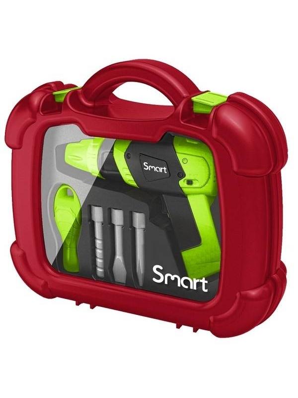 Игрушка электродрель в чемоданчике Smart HTI