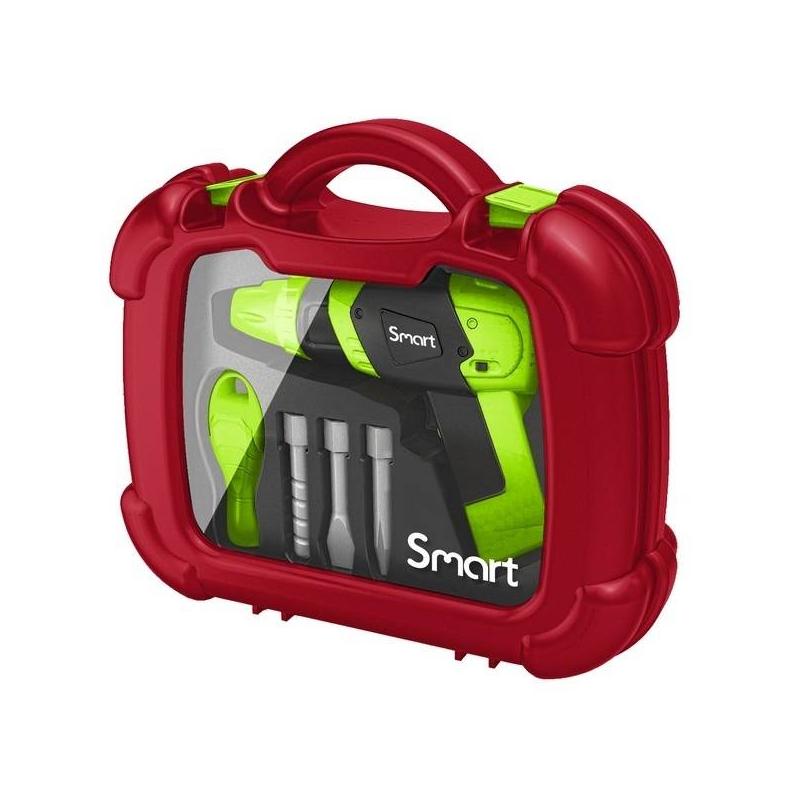 HTI Игрушка электродрель в чемоданчике Smart hti мусоровоз roadsterz