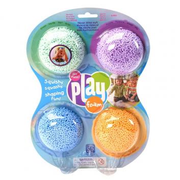 Масса для лепки Playfoam Classic 4 шт