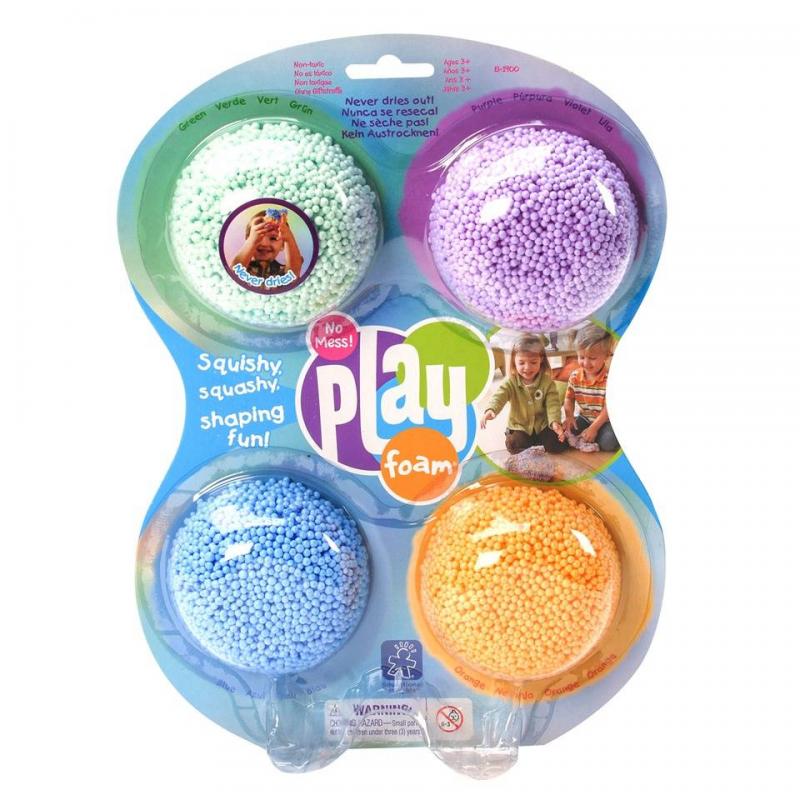 Educational Insights Масса для лепки Playfoam Classic 4 шт