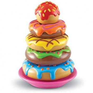 Игрушки, Набор Пирамида из пончиков Learning Resources 648625, фото