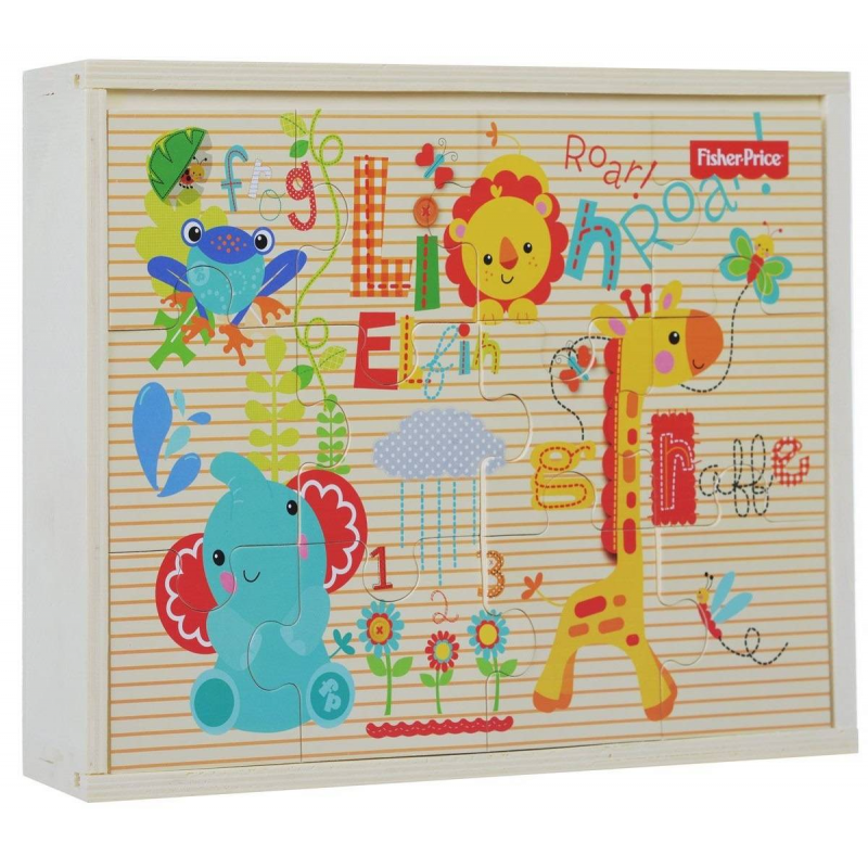 Fisher Price Деревянный пазл 3 в 1 36 деталей theodore gilliland fisher investments on utilities