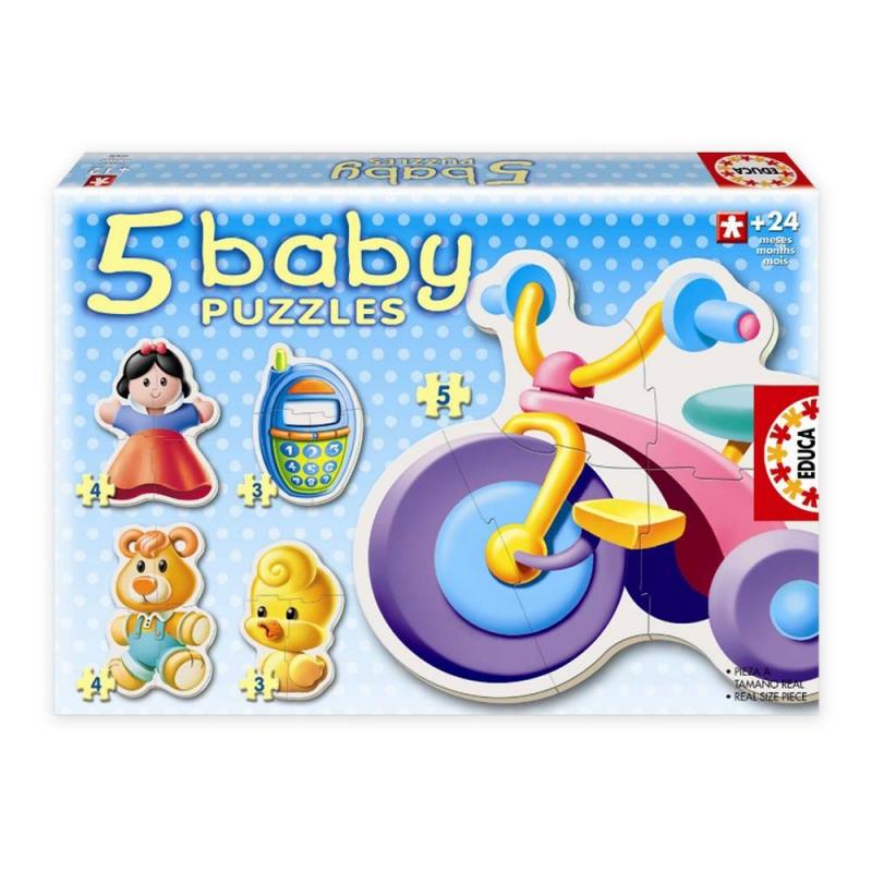 Educa Пазл Игрушки 19 деталей игрушки для детей
