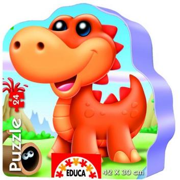 Пазл Динозаврики
