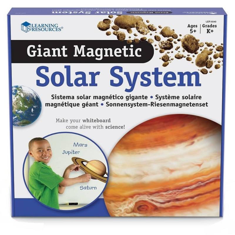 Learning Resources Набор магнитов Солнечная система