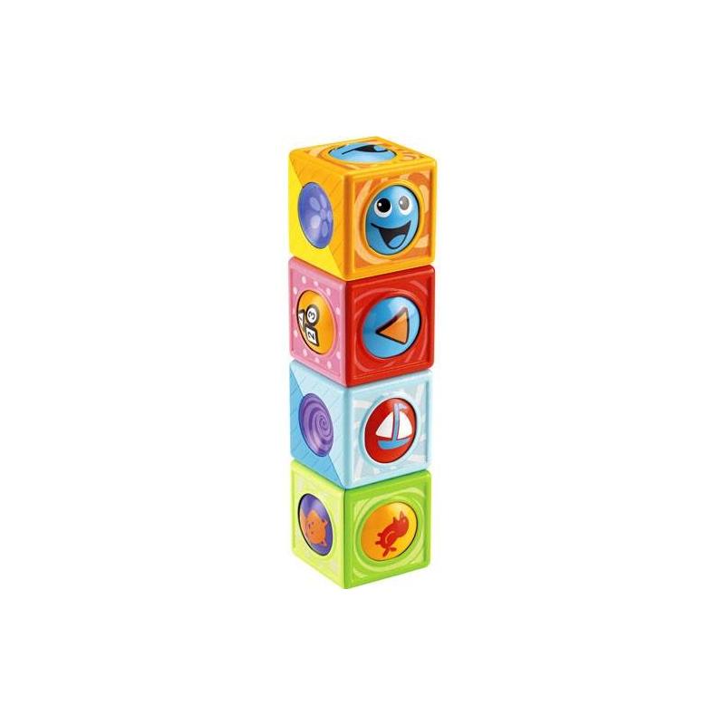 Игрушка развивающая Волшебные кубикиИгрушка развивающая Волшебные кубики марки Fisher-Price (Mattel).<br>Каждый кубик внутри имеет крутящийся шарик. На каждом шарике есть несколько картинок, привлекающих детское внимание.Игрушка развивает моторику рук, тактильное, слуховое, зрительное и цветовое восприятие.<br><br>Возраст от: 6 месяцев<br>Пол: Не указан<br>Артикул: 648594<br>Бренд: США<br>Размер: от 6 месяцев