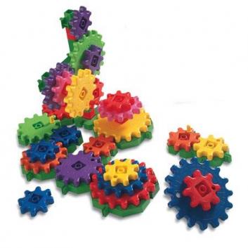 Игрушки, Конструктор Gears Чокнутая фабрика Learning Resources 648631, фото