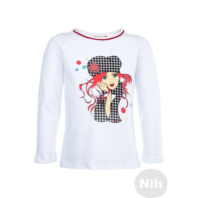 NANICA Футболка с длинным рукавом nanica пуловер