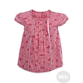Малыши, Блуза BIMBALINA (красный)606118, фото
