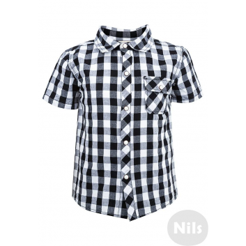 Малыши, Рубашка WOOLOO MOOLOO (черный)606134, фото
