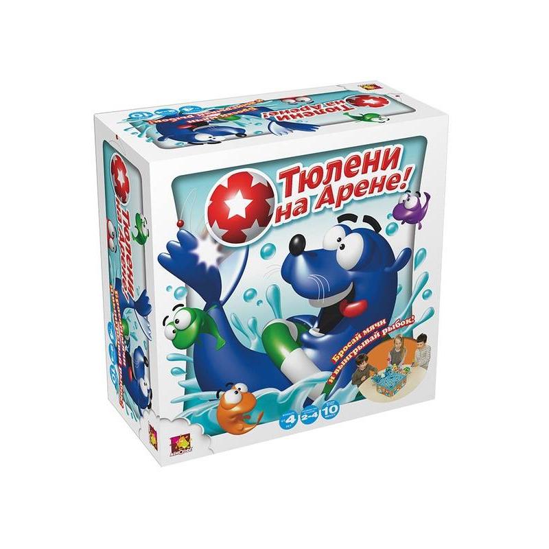 Asmodee Настольная игра Тюлени на арене игры для малышей asmodee настольная игра барбосики