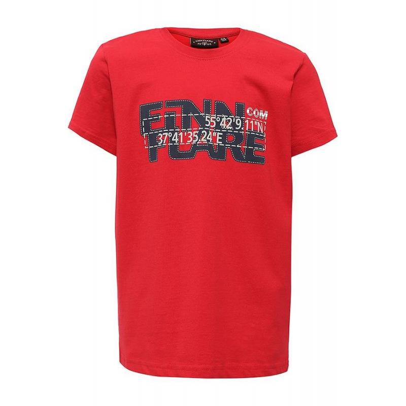 ФутболкаФутболкакрасногоцвета маркиFinn Flare для мальчиков.<br>Стильная футболка с коротким рукавом выполнена из натурального хлопка. Модель декорирована надписями и принтом с изображением цифр.<br><br>Размер: 11 лет<br>Цвет: Красный<br>Рост: 146<br>Пол: Для мальчика<br>Артикул: 676299<br>Бренд: Финляндия<br>Страна производитель: Бангладеш<br>Сезон: Весна/Лето<br>Состав: 100% Хлопок