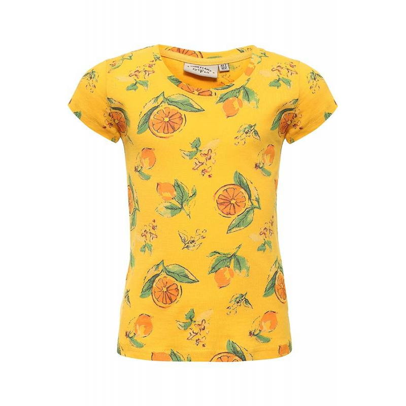 ФутболкаФутболка желтогоцвета маркиFinn Flare для девочек.<br>Яркаяфутболка с коротким рукавомвыполнена из чистого хлопкаи декорирована красочным принтом с изображением сочных лимонов.<br><br>Размер: 5 лет<br>Цвет: Желтый<br>Рост: 110<br>Пол: Для девочки<br>Артикул: 676014<br>Страна производитель: Бангладеш<br>Сезон: Весна/Лето<br>Состав: 100% Хлопок<br>Бренд: Финляндия
