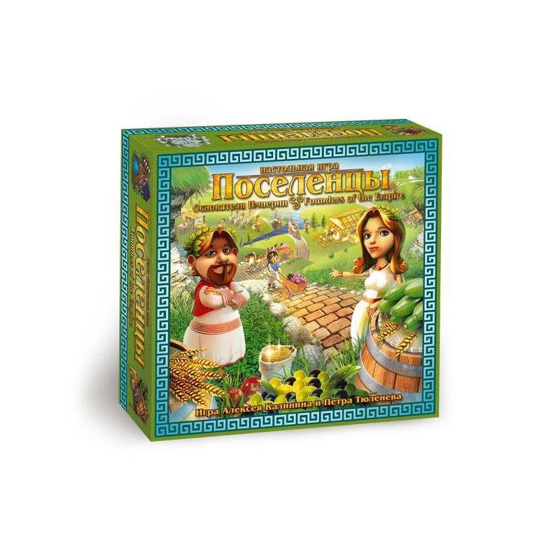 Правильные игры Настольная игра Поселенцы Основатели империи