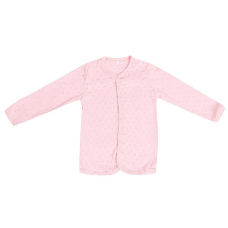 КофточкаКофточка розовогоцвета маркиSoniKids для девочек.<br>Однотонная кофточка, выполненная из чистого хлопка, декорирована выбитым геометрический узором и дополнена кнопками для удобства переодевания малышки.<br><br>Размер: 3 месяца<br>Цвет: Розовый<br>Рост: 62<br>Пол: Для девочки<br>Артикул: 648185<br>Страна производитель: Россия<br>Сезон: Всесезонный<br>Состав: 100% Хлопок<br>Бренд: Россия<br>Вид застежки: Кнопки