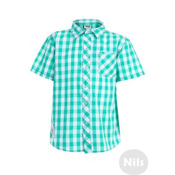 Мальчики, Рубашка WOOLOO MOOLOO (зеленый)606124, фото