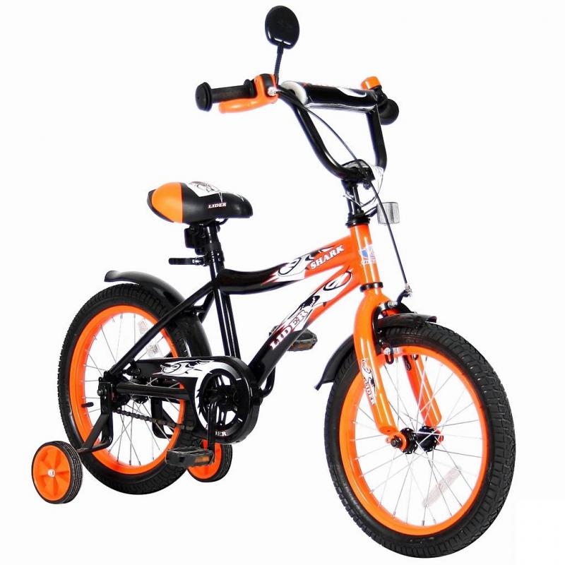 Велосипед двухколесный Lider Shark 16