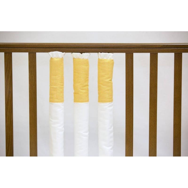 Бампер на кроватку Yellow cell