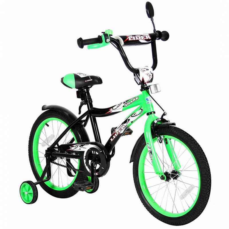 Велосипед двухколесный Lider Shark 18
