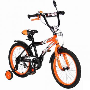Спорт и отдых, Велосипед двухколесный Lider Shark 18 VELOLIDER (оранжевый)650652, фото