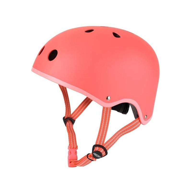 ШлемШлемкоралловогоцвета марки Micro длядевочек.<br>Шлем для защиты головы ребенка от ушибов. Область применения: самокат, ролики, беговел, скейт.<br>Размер S: 48-53 см;Размер М: 53-58 см.<br><br>Цвет: Коралловый<br>Размер: Без размера<br>Пол: Для девочки<br>Артикул: 677112<br>Бренд: Швейцария<br>Страна производитель: Китай