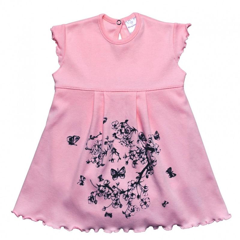 БодиБоди-платье розовогоцвета маркиМамуляндиядля девочек.<br>Милое боди с нашитой юбочкой, выполненное из чистого хлопка, декорировано изображением сакуры. Модель дополнена нежными рукавами-крылышками и кнопками для удобства переодевания малышки.<br><br>Размер: 18 месяцев<br>Цвет: Розовый<br>Рост: 86<br>Пол: Для девочки<br>Артикул: 676706<br>Страна производитель: Россия<br>Сезон: Весна/Лето<br>Состав: 100% Хлопок<br>Бренд: Россия<br>Вид застежки: Кнопки