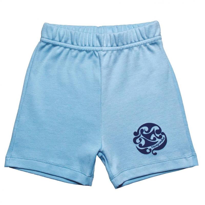 ШортыШорты голубогоцвета марки Мамуляндия для мальчиков.<br>Однотонные шортывыполнены из чистого хлопка и декорированы стильным принтом с логотипом бренда. Модельдополнена удобной широкой резинкой на поясе.<br><br>Размер: 6 месяцев<br>Цвет: Голубой<br>Рост: 68<br>Пол: Для мальчика<br>Артикул: 676807<br>Страна производитель: Россия<br>Сезон: Весна/Лето<br>Состав: 100% Хлопок<br>Бренд: Россия