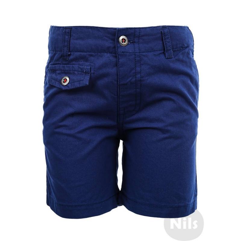 ШортыТемно-синиешорты марки WOOLOO MOOLOO для мальчиков. Шорты с двумякарманами выполнены из стопроцентного хлопка, застегиваются на пуговицу. Пояс регулируется специальными пуговицами на внутренней стороне. Шорты украшены декоративными фальш-карманами.<br><br>Размер: 12 месяцев<br>Цвет: Темносиний<br>Рост: 80<br>Пол: Для мальчика<br>Артикул: 607050<br>Страна производитель: Китай<br>Сезон: Весна/Лето<br>Состав: 100% Хлопок<br>Бренд: Испания