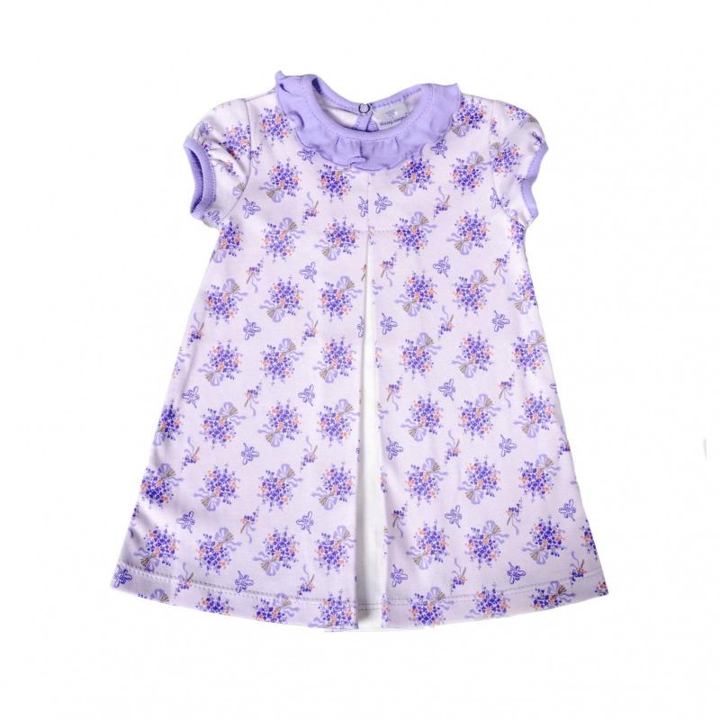 ПлатьеПлатьесиреневогоцвета маркиМамуляндия.<br>Платье с короткимрукавом выполнено из чистого хлопка и декорировано цветочным принтом, а также вставкой молочного цвета. Модель дополнена оборкой на воротнике и кнопкой сзади для удобства переодевания малышки.<br><br>Размер: 2 года<br>Цвет: Сиреневый<br>Рост: 92<br>Пол: Для девочки<br>Артикул: 676988<br>Страна производитель: Россия<br>Сезон: Весна/Лето<br>Состав: 100% Хлопок<br>Бренд: Россия<br>Вид застежки: Кнопки