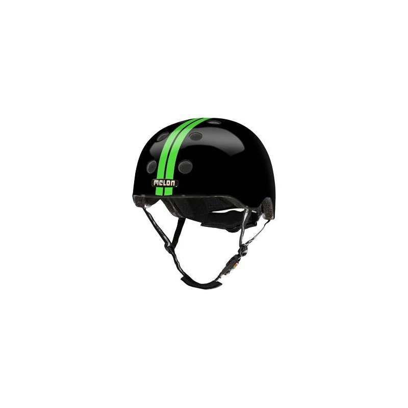 Шлем Straight Green Black