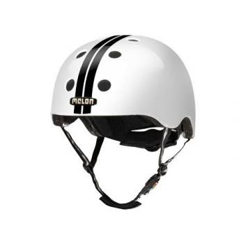 Спорт и отдых, Шлем Straight Black White Melon (черный)677250, фото