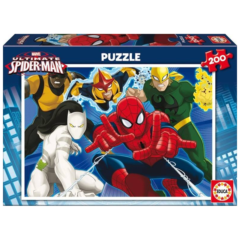 Educa Пазл Человек-паук 200 деталей пазлы educa пазл 200 деталей человек паук