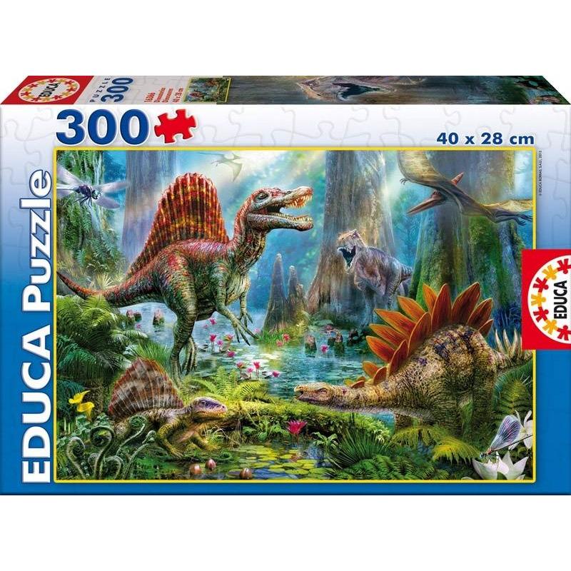 Пазл Динозавры 300 деталей