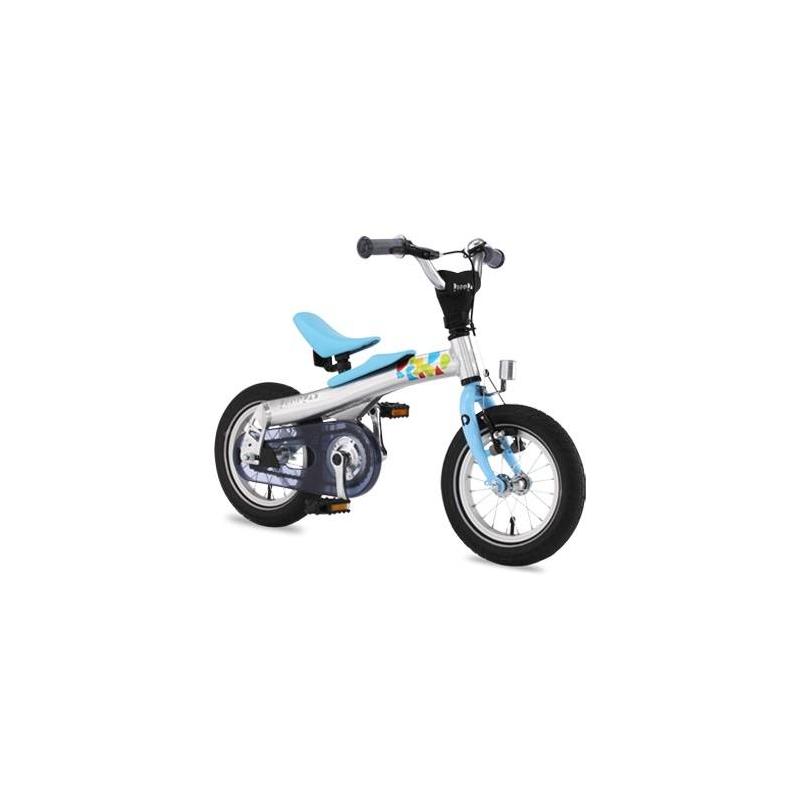 Беговел-велосипед 2 в 1 12Беговел-велосипед 2 в 1 12 синегоцвета маркиRennradдля мальчиков.<br>Благодаря беговелу-велосипеду ваш ребенок легко и быстро научится держать равновесие. Большинство деталей велосипеда изготовлено из высококачественного алюминиевого сплава. Он прошел проверку Государственной инспекции безопасности и соответствует требованиям жестких стандартов и правил. Его съемные педали разработаны с помощью врачей ортопедов и педиатров, чтобы помочь детям легко и безопасно научиться балансировать, наклоняться на велосипеде и управлять им с помощью руля. Более того, его уникальная беспедальная конструкция (режим беговела) придает ребенку чувство уверенности и исключает страх, позволяя детям держать ноги на земле и катиться вперед, балансируя и отталкиваясь в своем собственном темпе. Когда дети становятся старше и уверенно держат равновесие, педали можно установить на место, и беговел превратится в полноценный детский велосипед. Такая конструкция два в одном позволяет детям пользоваться своим велосипедом долгое время.Легкая алюминиевая рама имеет специальную форму, которая обеспечивает наилучшую жесткость конструкции и исключает возможные деформации в процессе эксплуатации. Специальная мягкая накладка на верхней части рамы, обеспечивает комфорт малышу во время катания на беговеле и обеспечивает дополнительную защиту от возможных травм. Все компоненты беговела-велосипеда разработаны с учетом детской анатомии и обеспечивают дополнительный комфорт. Передняя звезда, цепь и задняя звездочка полностью закрыты пластиковым чехлом, что обеспечивает безопасность и чистоту рабочих поверхностей во время катания. Легкие шины Innova slick имеют оптимальный протектор-рисунок, обеспечивающий наименьшее сопротивление качению и как результат - наилучший накат беговела-велосипеда. Рулевые ручки (грипсы) изготовлены из эластичного мягкого полиуретана, соответствуют размеру под детскую ладошку и имеют по краям специальную защитную подушечку.  Характеристики:<br>- рама: Alloy 