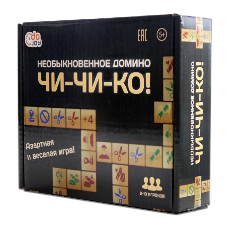 DoJoy Настольная игра Чи-Чи-Ко! Необыкновенное домино magic home настольная игра домино