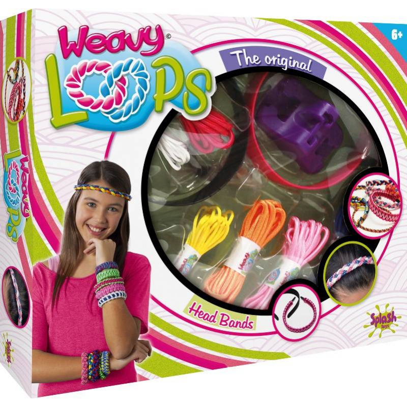Набор для плетения ободков и браслетовНабор для плетения ободков и браслетовмарки Splash Toys.<br>Набор содержит всё необходимое для творчества юной модницы. Девочка может создавать стильные браслеты и ободки для волоспри помощи ярких шнурочков и специальных приспособлений.<br>В комплекте:механизм для плетения,2 ободка,6 шнурков,3 резинки,фиксаторы для кончиков,схема.<br><br>Возраст от: 6 лет<br>Пол: Для девочки<br>Артикул: 667159<br>Страна производитель: Китай<br>Бренд: Франция<br>Размер: от 6 лет