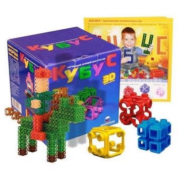 Игрушки, Конструктор Кубус 170 элементов Биплант 658450, фото
