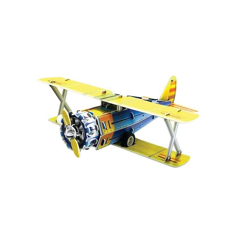 IQ Puzzle Пазл 3D Классический истребитель F41 В 38 деталей iq puzzle пазл 3d истребитель f 16 42 детали