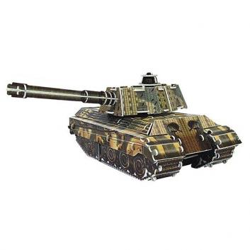 Пазл 3D Танк King Tiger