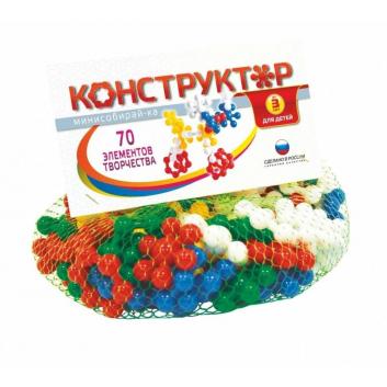 Конструктор Минисобирай-ка №1 70 элементов