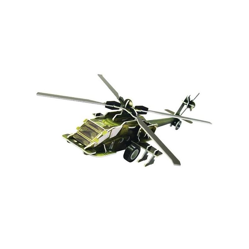Пазл 3D Вертолет АН 64 36 деталей