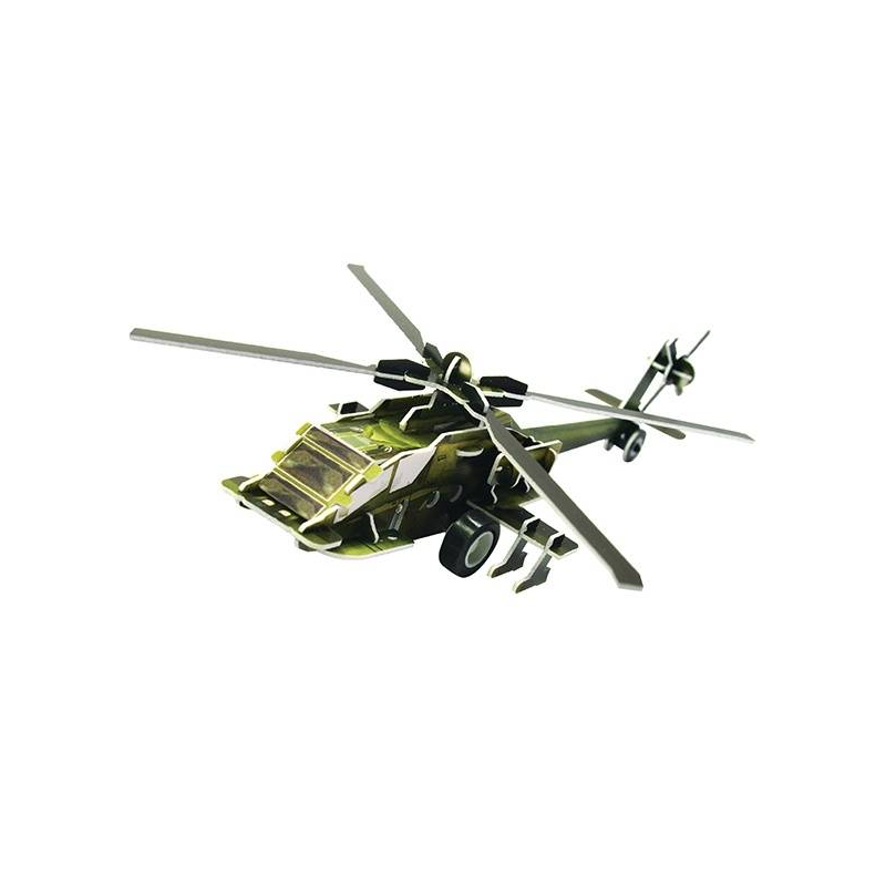 IQ Puzzle Пазл 3D Вертолет АН 64 36 деталей enchantimals пазл 64 магнитик фелисити лис и флик 03554