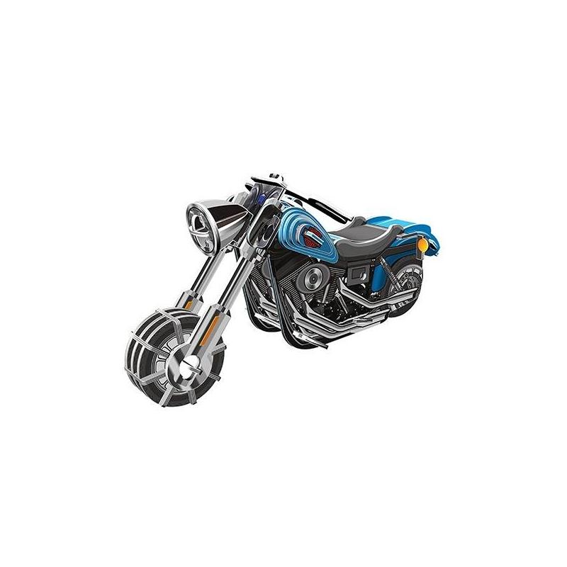 IQ Puzzle Пазл 3D Мотоцикл Wide G 42 детали iq puzzle пазл 3d истребитель f 16 42 детали