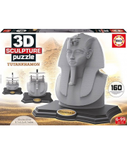 Скульптурный 3D пазл Тутанхамон