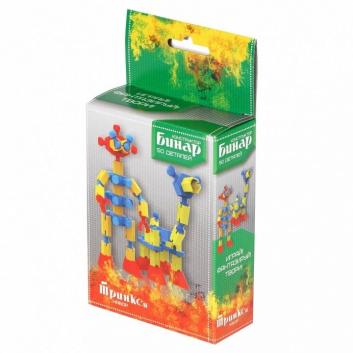 Игрушки, Конструктор Бинар Тринкси 50 деталей Биплант 658467, фото