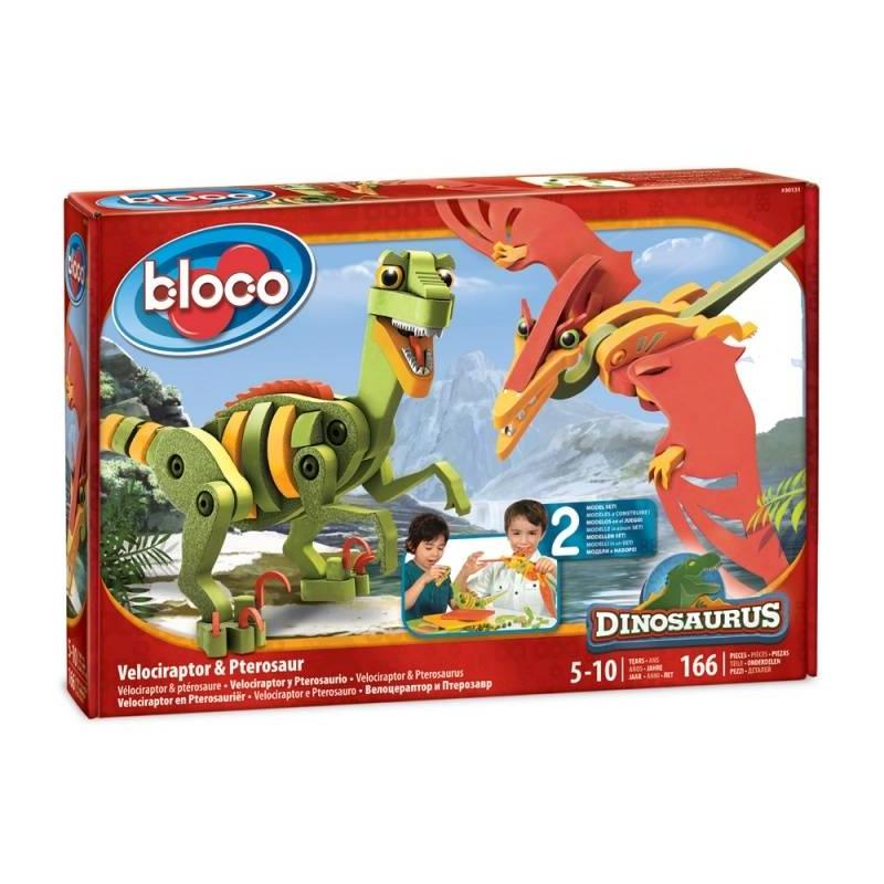 Bloco Конструктор Динозавры Велоцераптор и Птерозавр bloco конструктор динозавры велоцераптор и птерозавр