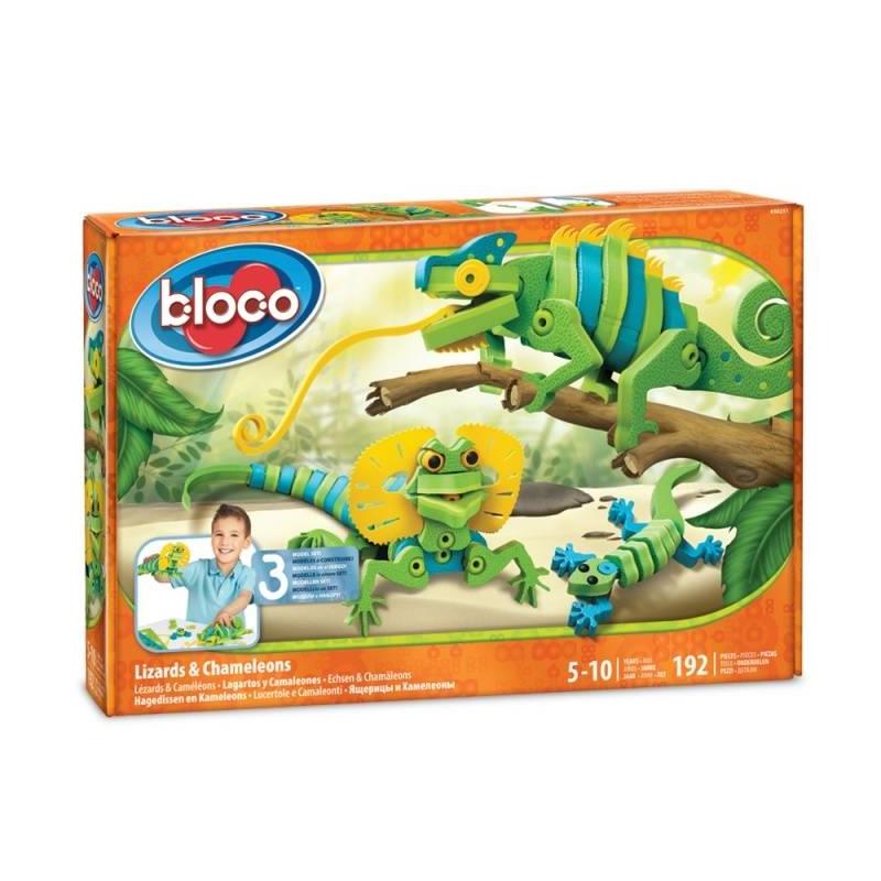 Bloco Конструктор Ящерицы и Хамелеоны конструктор конструктор забияка крокодил 1305717