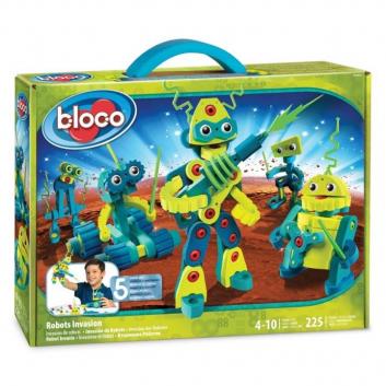 Игрушки, Конструктор Вторжение роботов Bloco 658477, фото