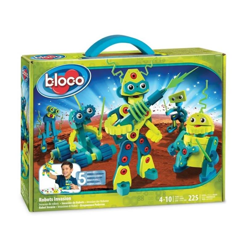 Bloco Конструктор Вторжение роботов